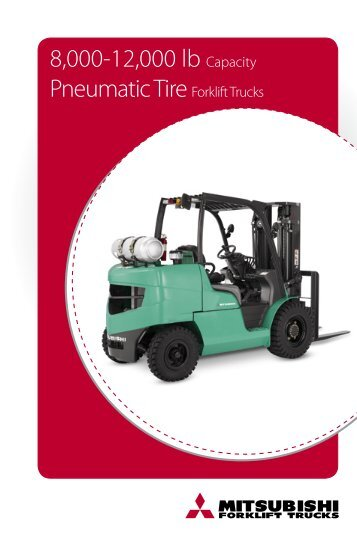 8,000-12,000 lb Capacity Pneumatic Tire Forklift ... - Grúas San Blas
