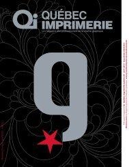 Numéro 31 mars - avril 2013 5,95 $ - QI-Québec Imprimerie