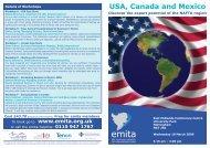 USA, Canada and Mexico - Emita