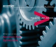 Accenture Parts Optimization