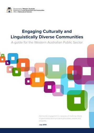 Engaging Culturally and Linguistically Diverse Communities