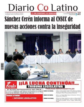 Edición 12 de Febrero de 2015