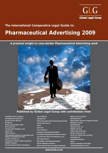 Pharmaceutical Advertising 2009. Latvia chapter - Raidla Lejins ...