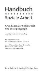 Handbuch Soziale Arbeit - Ernst Reinhardt Verlag