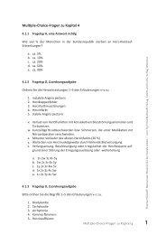 Multiple-Choice-Fragen zu Kapitel 4 - Ernst Reinhardt Verlag