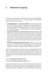 2 Methodische Zugänge - Ernst Reinhardt Verlag