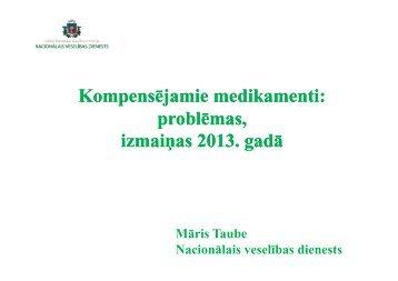 Māris Taube, Nacionālais veselības dienests - BIG event