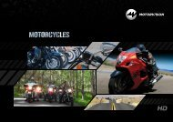 Download Factsheet Motorcycles (PDF) - MOTORVISION Group