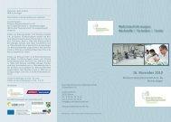 16. November 2010 - Brancheninitiative Gesundheitswirtschaft ...
