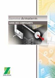 Gamme ARMATERM: Guide des Composants - dthX
