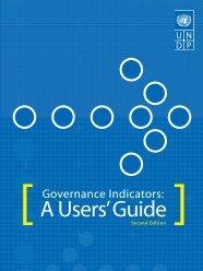 Governance Indicators: A Users' Guide - Albania