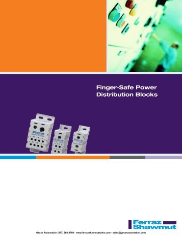 Brochure - Ferraz Fuses & Mersen Products