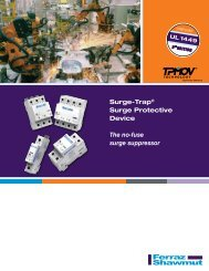 Brochure - Ferraz Fuses & Mersen Products