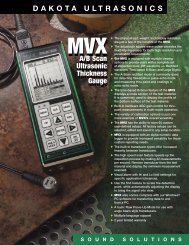 A/B Scan Ultrasonic Thickness Gauge A/B Scan ... - Labomat