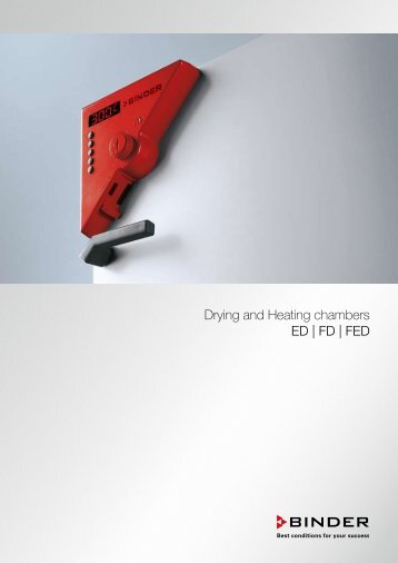 Drying and Heating chambers ED | FD | FED - Labomat