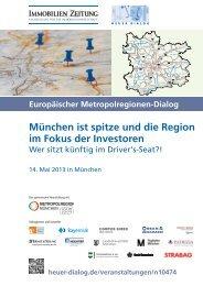 München ist spitze und die Region im Fokus der Investoren - A3 ...