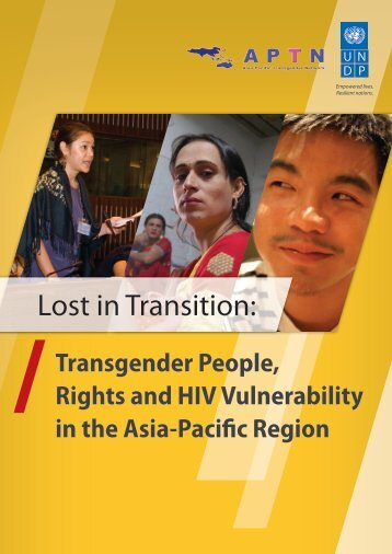 Lost in Transition: - United Nations Development Programme