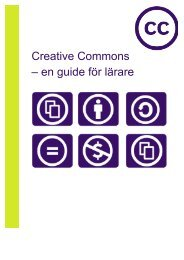 Creative Commons – en guide för lärare