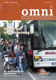 Für Bedürfnisse der Behinderten - Bus Thüringen