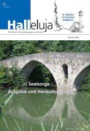 Seelsorge - Pfarre St. Franziskus Hall in Tirol - Schönegg