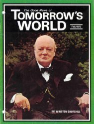 Tomorrows World 1972 - Herbert W. Armstrong Library and Archives