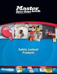 Safety Series Catalogue US Only - Master Lock Safety
