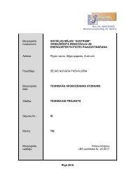 Tehniskās apsekošanas atzinums - SEJA.LV