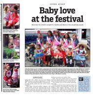 Baby Love At The Festival