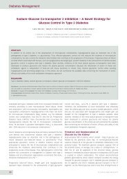 Diabetes Management - Touch Endocrinology
