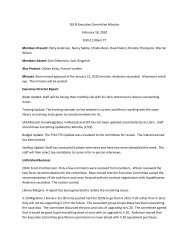 SDLN Executive Committee Minutes February 18, 2010 9:00-11 ...