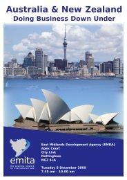 Australia & New Zealand - Emita