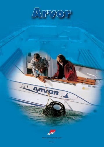 Arvor 20 Fisherman - mercurymarine.dk