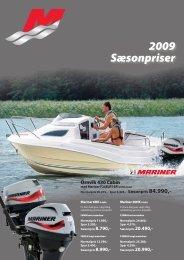 2009 Sæsonpriser - mercurymarine.dk