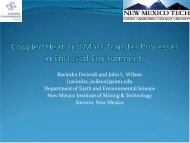 Coupled Heat and Mass Transfer Processes in Enclosed ... - Comsol