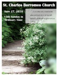 June 27, 2010 - St. Charles Borromeo Church