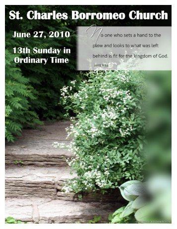June 27, 2010 - St. Charles Borromeo Church