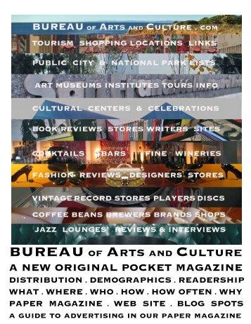 BUREAU ADVERTISING DETAILS INTRO.pdf - BUREAU of ARTS ...