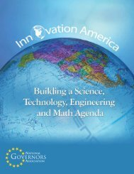 Building a Science, Technology, Engineering, and Math Agenda