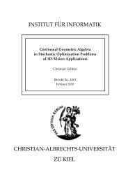 Conformal Geometric Algebra in Stochastic Optimization Problems ...