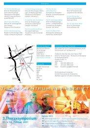 Download der Einladung zum 3. Thoraxsymposium - Thoraxzentrum ...