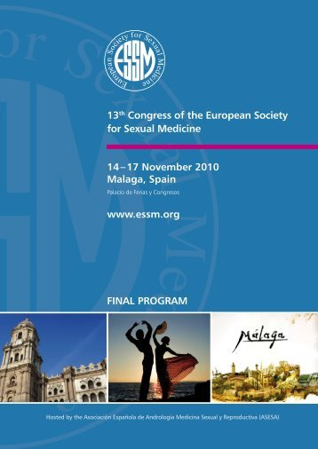 final PrograM 13th Congress of the european society for ... - ESSM