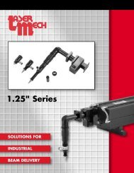 125 Series Catalog.pdf - Laser Mechanisms, Inc.