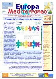 Europa & Mediterraneo n. 26 - Euromed Carrefour Sicilia