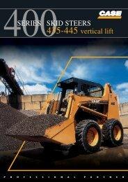 400SERIES SKID STEERS 435-445 vertical lift
