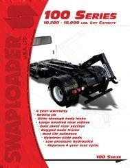 • 4 year warranty • Sliding jib • Slide through body locks • Large ...