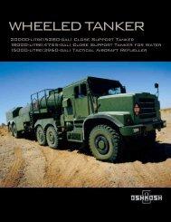 Oshkosh Wheeled Tanker Brochure - JED