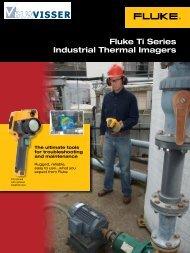 Fluke Ti Series Industrial Thermal Imagers - B.L.W. Visser B.V.