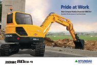 Hyundai R80CR-9 Mini Excavator Brochure