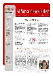 EN Newsletter 3 - Academia Istropolitana Nova