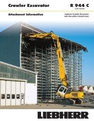 R944C Demolition brochure - Lorusso Heavy Equipment